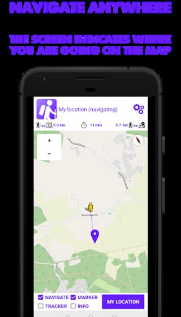 Hike Tracker - Hiking App with GPS navigation screenshot 3