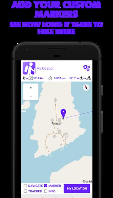 Hike Tracker - Hiking App with GPS navigation screenshot 4