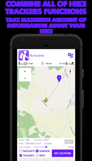 Hike Tracker - Hiking App with GPS navigation screenshot 6