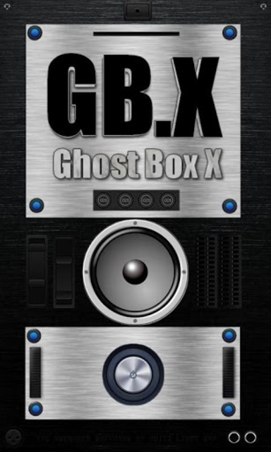 Ghost Box X - GB.X - Paranormal Spirit Box screenshot 4