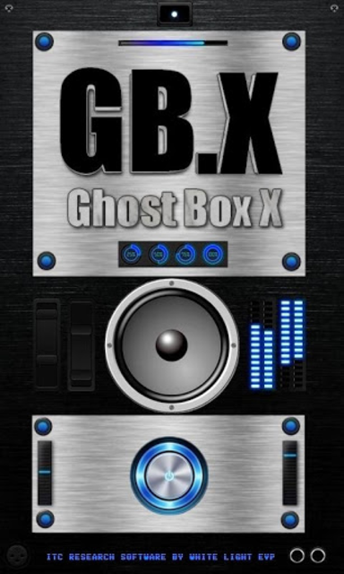 Ghost Box X - GB.X - Paranormal Spirit Box screenshot 5