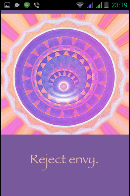 Rays of Light Oracle Cards screenshot 3