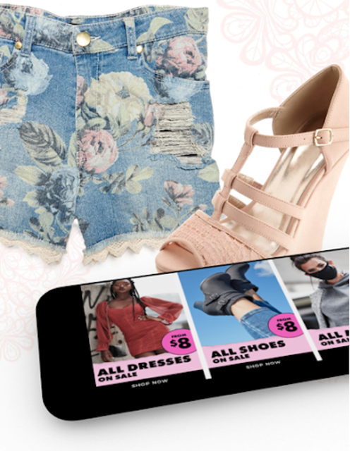 Charlotte Russe : Shoes Dresses Jeans Clothes screenshot 1
