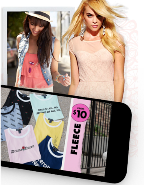 Charlotte Russe : Shoes Dresses Jeans Clothes screenshot 3