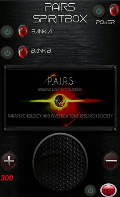 PAIRS Spirit Box screenshot 1