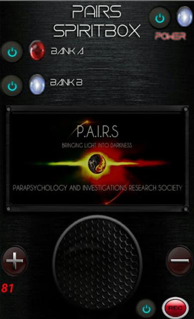 PAIRS Spirit Box screenshot 2