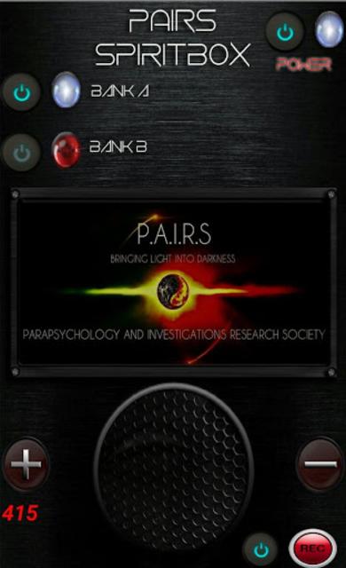 PAIRS Spirit Box screenshot 4