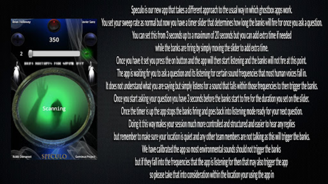 Speculo screenshot 1