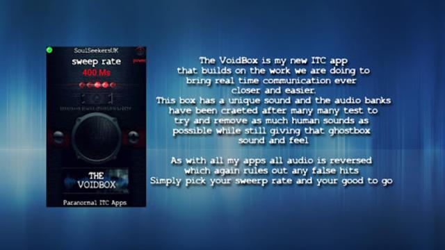 The VoidBox screenshot 2