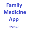 Icon for Family Medicine App (Part 1)