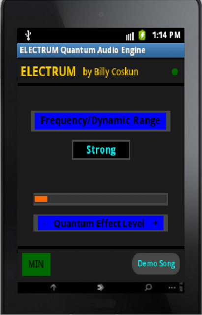 Electrum Quantum-Audio Engine screenshot 1