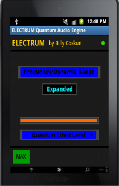 Electrum Quantum-Audio Engine screenshot 2