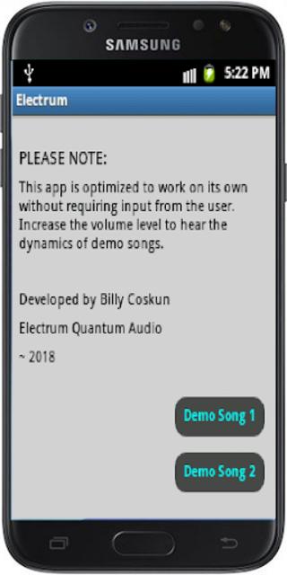 Electrum Quantum Audio Sound-card Upgrade screenshot 1