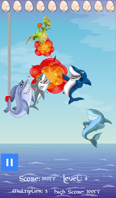 Dragons vs. Sharks! screenshot 1