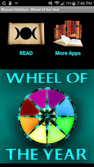 Wiccan Holidays: Wheel of the Year (Wicca Sabbats) screenshot 1