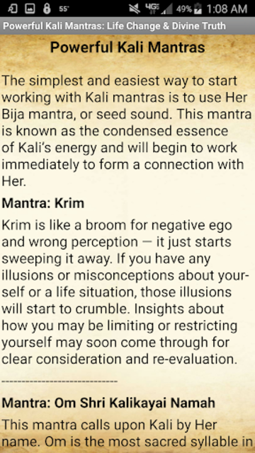 Powerful Kali Mantras: Life Change & Divine Truth screenshot 6