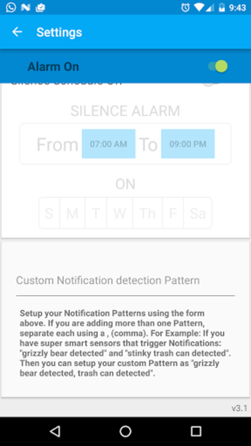 Alarm for Smart Things screenshot 4
