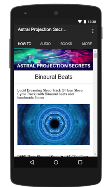 Astral Projection Secrets screenshot 4