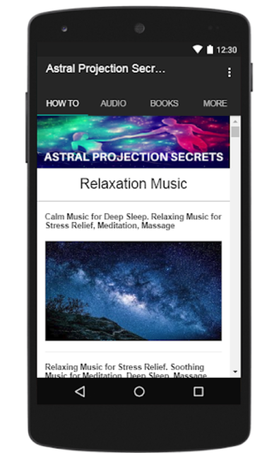 Astral Projection Secrets screenshot 7