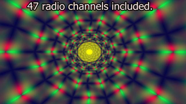 Alien 3D Worlds Audio Visualizer - Premium version screenshot 1