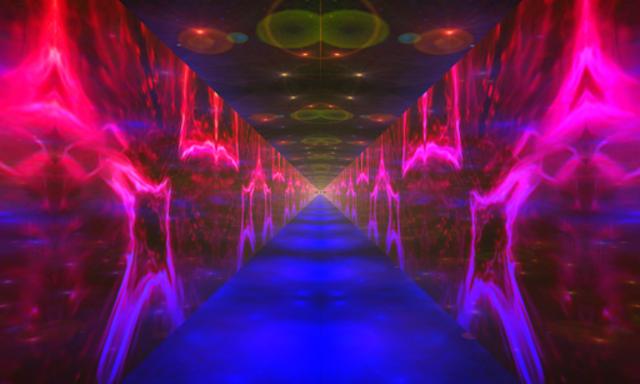 Alien 3D Worlds Audio Visualizer - Premium version screenshot 2