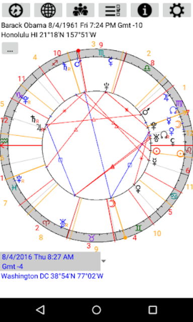 Astrological Charts Pro screenshot 5