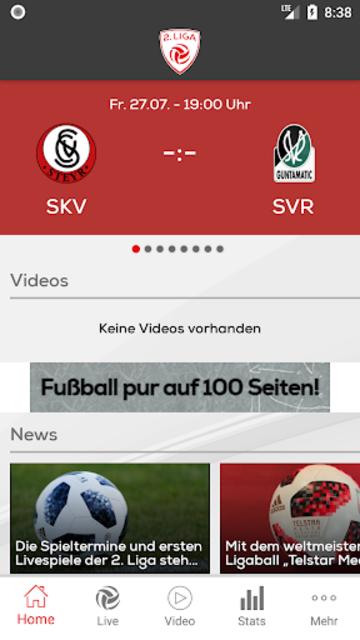 2. Liga screenshot 1