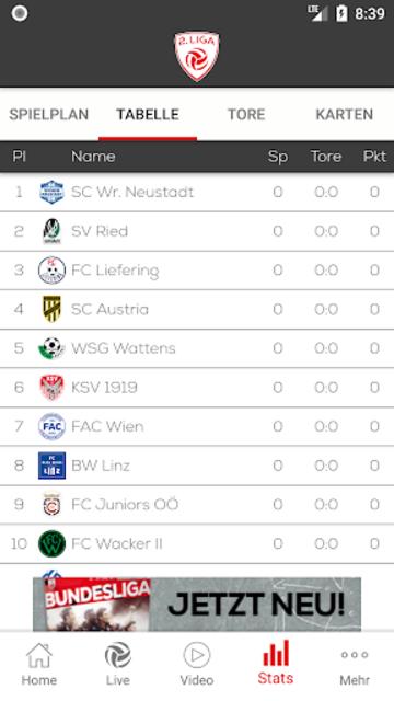 2. Liga screenshot 3