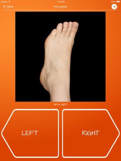Recognise Foot screenshot 12