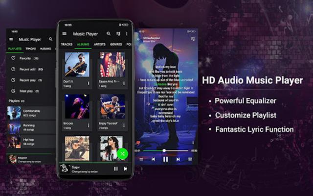 Music Player - Bass Booster - Free Download screenshot 1
