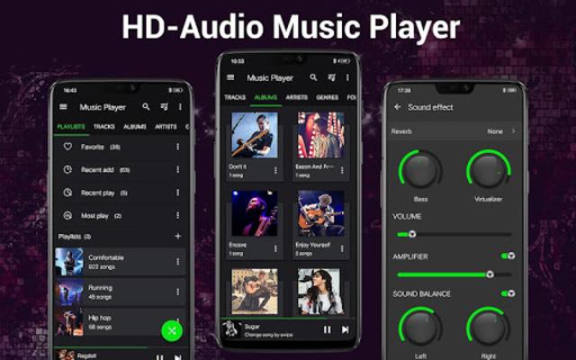Music Player - Bass Booster - Free Download screenshot 13