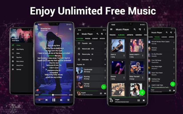 Music Player - Bass Booster - Free Download screenshot 17