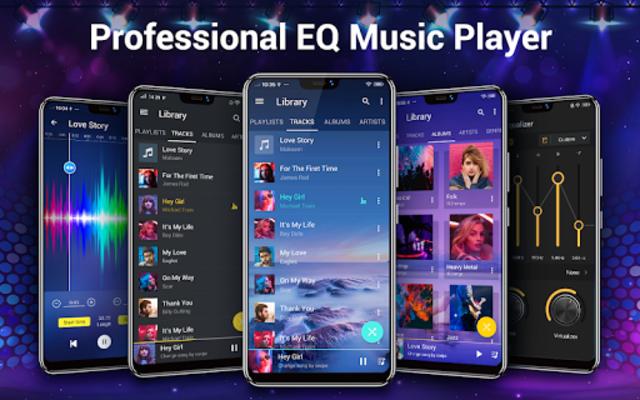 Music Player- Free Music & Mp3 Player screenshot 1