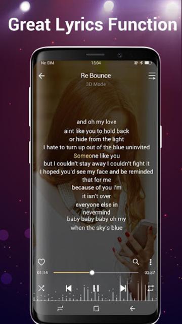 Music Player- Free Music & Mp3 Player screenshot 22