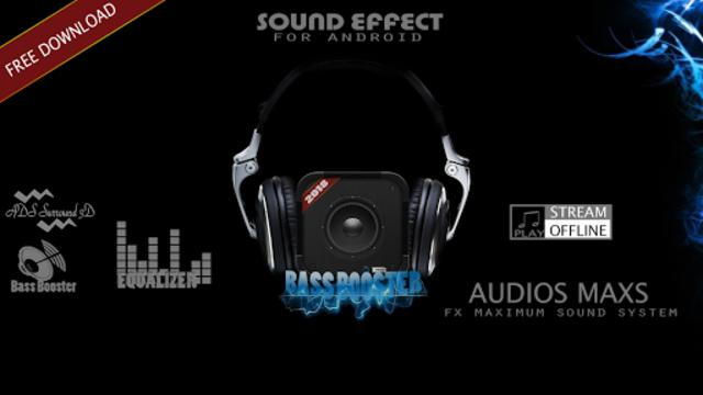 Bass Booster For Media Player screenshot 1