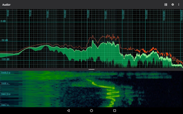 Audizr Pro - Spectrum Analyzer screenshot 12