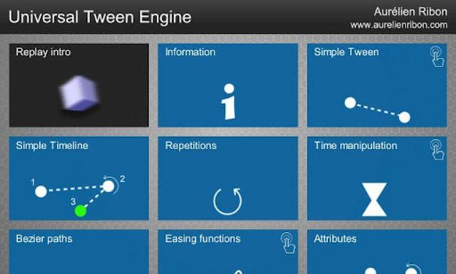 Universal Tween Engine screenshot 2