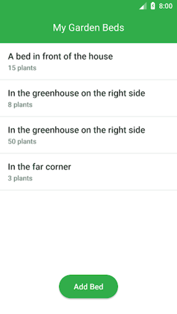 Garden Organizer: Manager & Planner screenshot 1