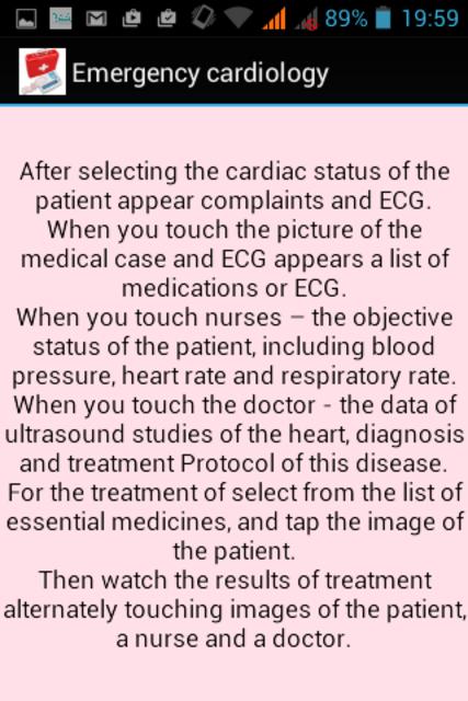 Emergency Cardiology screenshot 2