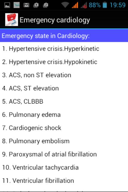 Emergency Cardiology screenshot 3