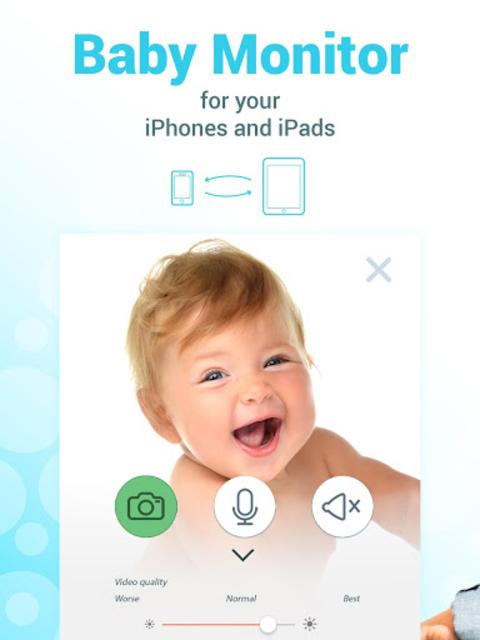 BABY MONITOR 3G  - Babymonitor for Parents screenshot 6