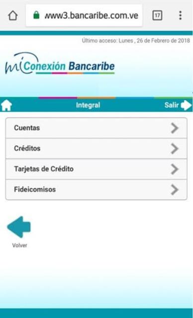 Mi Conexión Bancaribe Móvil screenshot 3