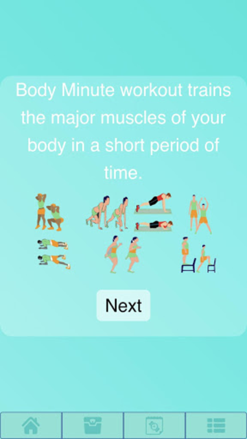 Body Workout screenshot 1