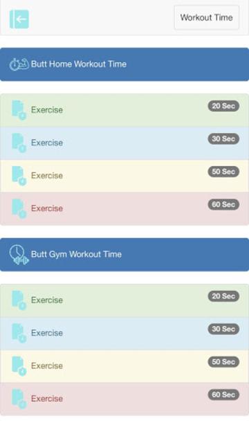 Body Workout screenshot 5