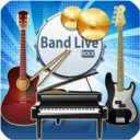 Icon for Band Live Rock (drum, bass, guitar, piano, mic)
