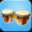 Icon for Bongo Drums (djembae, bongo, conga, percussion)