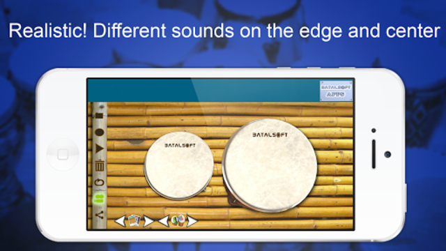 Bongo Drums (djembae, bongo, conga, percussion) screenshot 1