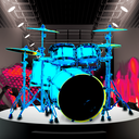 Icon for Drum Hero (rock music game, tiles style)