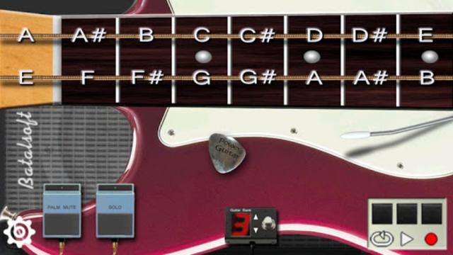 Power guitar HD 🎸 chords, guitar solos, palm mute screenshot 1