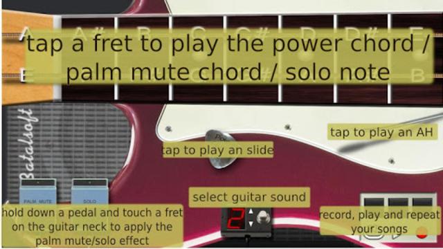 Power guitar HD 🎸 chords, guitar solos, palm mute screenshot 3